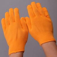 Yellow nylon gloves thickening fiber polypropylene filament gloves crop 500