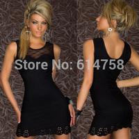 New Fashion Women Sexy Lace dress Lady Clubwear Cocktail Party Club Nightclub stretchy Mini Dress FREE SHIPPING