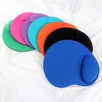 New Thicken Wrist Comfort Mouse Pad Mat Mice Pad For Optical / Trackball Mouse Drop Free Shipping