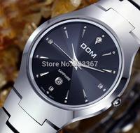 h Men 2014top Brand Men Tungsten Steel Watch Quartz Sapphire Czech Diamond Waterproof Full Calendar Vintage