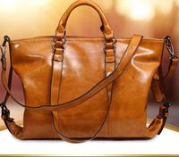 Hot Sale 100% Genuine Leather Bags Retro Handbags Totes Motorcycle Bag Women Shoulder Bag Fashion Messenger Bags Desigual 2014