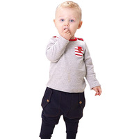 New Style Baby Casual Clothing sets :Children Boys Cotton Spring and Autumn Outwear Kids Home wear Good Quality Baby Product