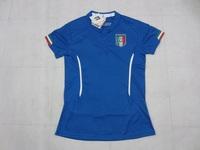 2014 World Cup Italy Woman Home Soccer Jersey 14 15 Italy Femal Shirt PIRLO BALOTELLI DE ROSSI Osvaldo Thailand Lady's Jersey.