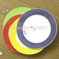 2014 Promotion 7-8inch Fashion ceramic  decoration dish fruit plate+Free shipping