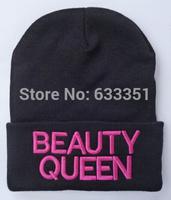 2014 seconds kill beauty queen beanie hat breaking bboy hip hop outdoor knitted prevent skullies beanies, hats caps ,adjustable