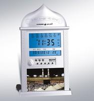 24pcs /lots Ramadan gift Digital  Automatic  muslim azan clock islamic prayer praying table clock Ha4004