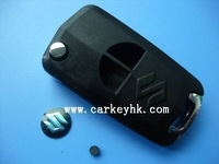 Price discount key Suzuki 2 buttons flip modified remote key shell