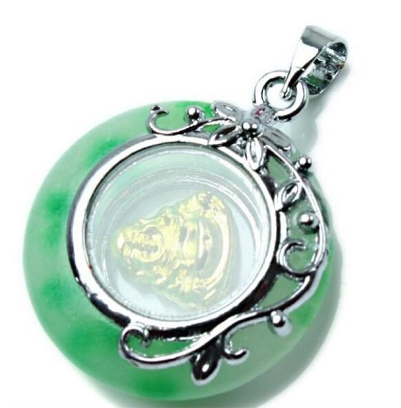Lucky Buddha Pendant fashion agate pendant Religious Jewelry Free Shipping LM-Z001(China (Mainland))