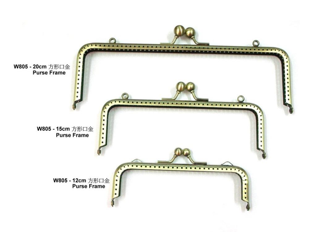 high quality of 10pcsx VVS95388 - 20cm,15cm,12 cm width Purse Frame /antique Bronze Bags Purse Metal Frame Clasp Making Supplies(China (Mainland))