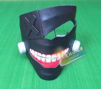 Japan Anime Tokyo Ghoul Cosplay PU Mask Halloween Cos Mask Gifs