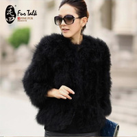 High Quality Factory Cheap Ostrich Fur Coat