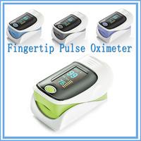 Spo2 OLED Display Portable Colorful Fingertip digital Pulse Oximeter/finger blood pressure sensor for Hospital and Home
