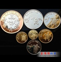 Lle De Pins 7 PCS Coins Set 2014, New Uncirculated, Original Coin Collection, FREE SHIPPING!