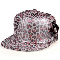 Fluorescent color leopard snapbacks caps hip hop baseball cap snapback hats for women men 2014 new M77