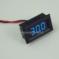 New Two Wires Digital Voltmeter Blue LED Display DC3.0-30V Voltage Meter H1E1