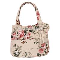 2014 canvas bag women's handbag  cotton printing  small tote bag handbag