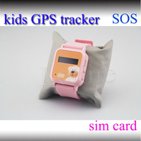 SOS Emergency Call Family Numbers Quick Dail Kids GPS Tracker Quad-bands Smart Phone Watch