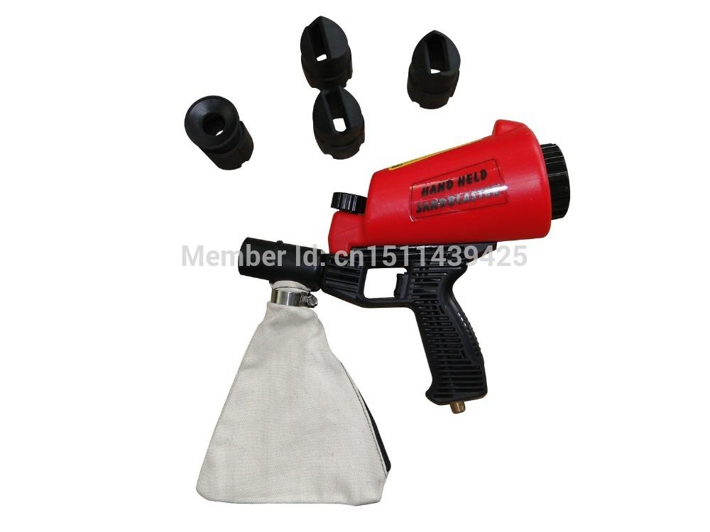 Hand Held Siphon Pressure Vacuum Sandblaster Gun Kit Sandblasting Tool(China (Mainland))