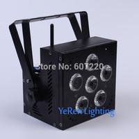 Wireless Battery Powered LED Par Light ,RGBWA+UV 6in1 Color   Dj Wash Light,DJ Lights