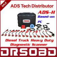 Original ADS-H Truck Diagnostic Scanner Based-on PC ADS3100 Universal Diesel Truck Heavy Duty Scan Tool Free Online Update
