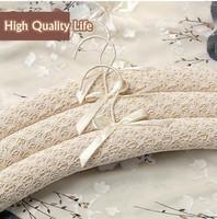 free shipping Fashion high quality sponge cloth slip-resistant wedding dress dressing cloth hanger seamless clohes hanging OEM