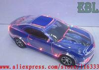 20pcs/lot LED Speaker USB Car Shape Speaker Mini Music Box With FM Function Support TF Card Free Shipping