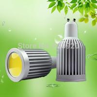 Free shipping 7W COB LED GU10/ MR16 /E27 220V white/ warm white LED spot lights high brightness 120 degrees factory price