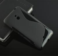 Hot 8 Colors S Line Soft TPU Back Case Skin Cover For Nokia Lumia 1320 + phone holder + stylus