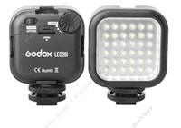 Free Shipping!Godox LED36 Video Lamp 36 LED Lights for DSLR Camera Camcorder mini DVR
