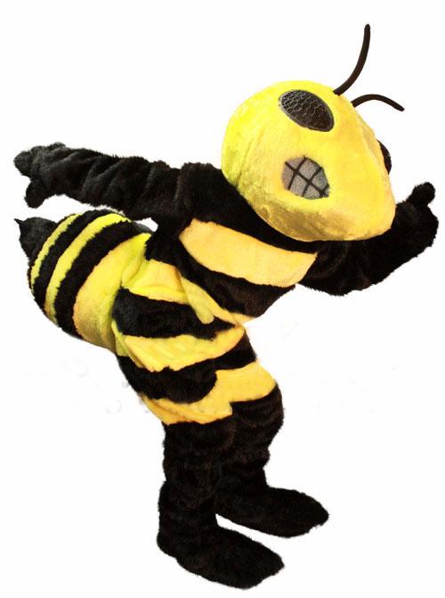 Blue Hornet Bee Mascot Park Hornet Bee Mascot