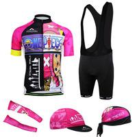 New 2014 Tony Chopper print Cycling Jersey cycling wear cycling clothing Bib shorts men Summer Breathable quick dry