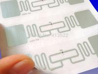 Wholesale EPC Alien H3 9662 RFID UHF Inlay with Wet sticker(1000pcs/lot)