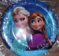 Birthday direct new arrival birthday party paper plates 12 pcs frozen plates 9 inch plates