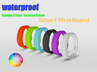 NEW waterproof Healthy Bracelet step counter Silicone Wristband Smart Hand Ring Bluetooth 4.0 sleeping fitness running pedometer