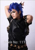 Jonathan Joestar From JOJO Blue 45cm Short Styling Anime Cosplay Hair Wig