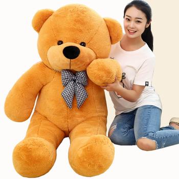 1 шт. темно-русый высокое качество низкая цена мягкие плюшевые игрушки большой size100cm плюшевый мишка 1 м / большой медведь куклы / любителей подарок на день рождения
