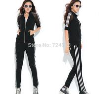 Wholesale woman clothing set tracksuits,comfortable sport suit women outdoors sportswear female sports suit jogging suits women