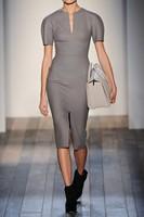 S-XXL Hot Selling Women Clothing Grey High Street OL Elegant Short Sleeve Bodycon Party Pencil Bandage Dress Celebrity Dresses
