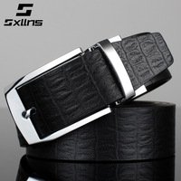 2015 Rushed Belts for Cinto Masculino Sxllns Genuine Leather Belts for Men First Layer of Cowhide Male Pin Buckle Strap Brand