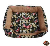 HOT  Thickening Camouflage square kennel8 sofa bed thick pet nest  pet house pet bed free shipping+gifts