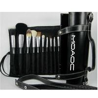 Free shipping,NO 042 16 pcs cosmetic brush set withTube bag, makeup brush