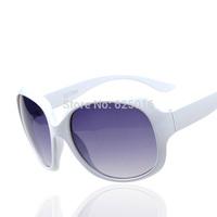 NEW 2014 band sunglasses women eyewear gradient red acetate Frame Antifragmentation mirror women sunglasses women brand designer