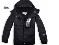 2014 new winter down jackets brand Men's jacket ski hiking outdoor sports suit warm waterpr of two piece hoody coat