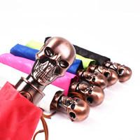 2014 free shipping creative skeleton automatic three folding sun umbrella men's women's rain umbrella Rechar036