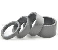 """1Set  1 1/8"""" Full Carbon Fibre 3k Matte Spacer Headset Fork Washer 5mm 10mm 15mm 20mm"""
