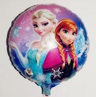 "100 pcs/Lot, Free Shipping, Wholesale, Flozen Balloons , Aluminum Foil Helium Balloon.Baby's Toy & Gift.  Party decoration. 18"""