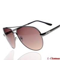 Hot Sale Fashion Sunglass Women/men UV Protection full frame Frog Mirror Sunglasses Metal Spectacles Goggles Sunglasses Oculos