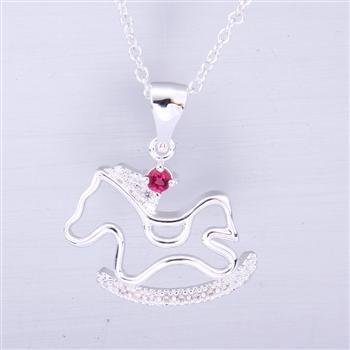 925 чистое серебро ювелирные изделия ожерелье серебро ожерелье прекрасных pony серебро ювелирные изделия! N617