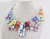 2014 Newest Brand Necklaces & Pendants Women Jewelry Designer Multicolor Statement Necklace Fashion Choker Luxury Wholesale