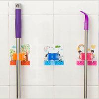 Y006 creative new series of multifunction couple magic tricks Seamless mop rack